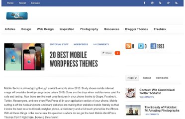 http://www.chethstudios.net/2011/08/20-best-mobile-wordpress-themes.html
