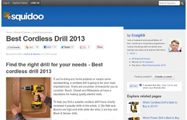 http://www.squidoo.com/best-cordless-drill-reviews