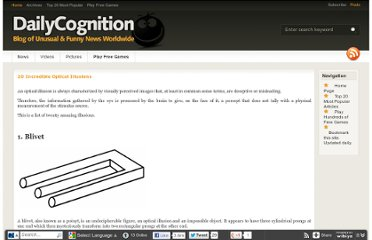 http://www.dailycognition.com/index.php/2009/02/19/20-incredible-optical-illusions.html
