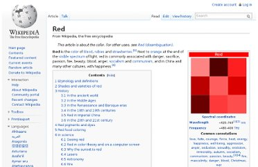 http://en.wikipedia.org/wiki/Red#Courage_and_sacrifice