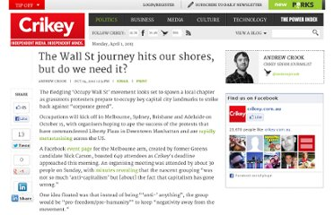 http://www.crikey.com.au/2011/10/04/the-wall-st-journey-hits-our-shores-but-do-we-need-it/