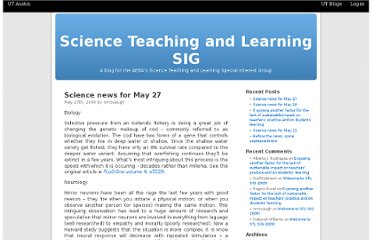 http://blogs.utexas.edu/scienceteaching/