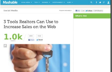 http://mashable.com/2010/12/31/realtor-web-tools/