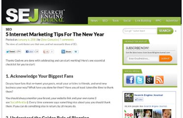 http://www.searchenginejournal.com/5-internet-marketing-tips-for-the-new-year/26780/