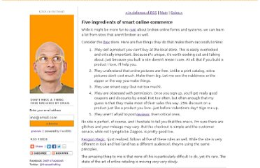 http://sethgodin.typepad.com/seths_blog/2011/01/five-ingredients-of-smart-online-commerce.html