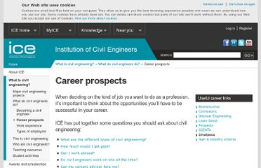 http://www.ice.org.uk/Education/Students---Young-Learners/Career-Prospects