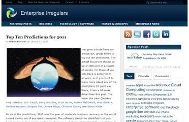 http://www.enterpriseirregulars.com/31326/top-ten-predictions-for-2011/