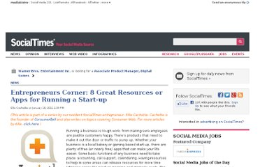 http://socialtimes.com/entrepreneurs-corner-8-great-resources-or-apps-for-running-a-start-up_b34868