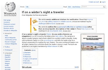 http://en.wikipedia.org/wiki/If_on_a_winter%27s_night_a_traveler