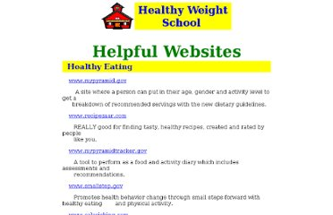 http://www.blubberbuster.com/school/healthy_eating_resources.htm