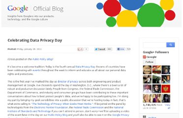 http://googleblog.blogspot.com/2011/01/celebrating-data-privacy-day.html