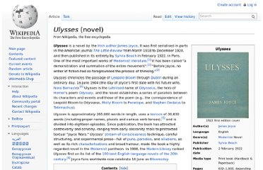 http://en.wikipedia.org/wiki/Ulysses_(novel)