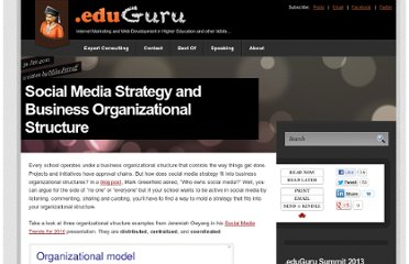 http://doteduguru.com/id6488-social-media-strategy-and-business-organizational-structure.html