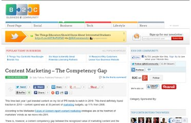 http://www.business2community.com/online-marketing/content-marketing-%e2%80%93-the-competency-gap-05376