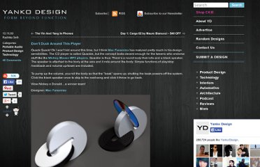 http://www.yankodesign.com/2009/10/19/don%e2%80%99t-duck-around-this-player/