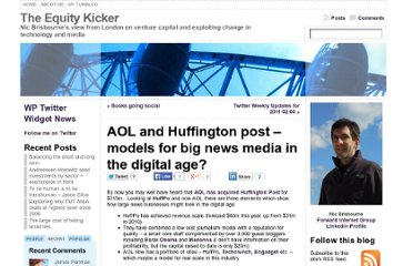 http://www.theequitykicker.com/2011/02/07/aol-and-huffington-post-models-for-big-news-media-in-the-digital-age/