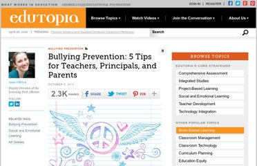 http://www.edutopia.org/blog/bullying-prevention-tips-teachers-parents-anne-obrien