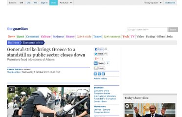 http://www.guardian.co.uk/business/2011/oct/05/general-strike-in-greece