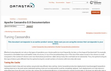 http://www.datastax.com/docs/0.8/operations/tuning