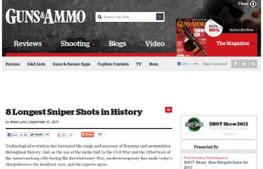http://www.gunsandammo.com/2011/09/27/longest-sniper-shots-in-history/