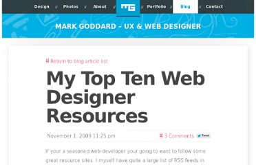 http://blog.0100.tv/2009/11/my-top-ten-web-designer-resources/
