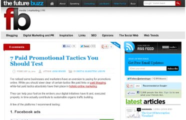 http://thefuturebuzz.com/2011/02/22/paid-promotional-tactics/