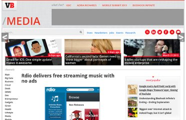 http://venturebeat.com/2011/10/06/rdio-delivers-free-streaming-music-with-no-ads/
