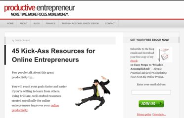 http://productiveentrepreneur.com/resources-for-online-entrepreneurs/