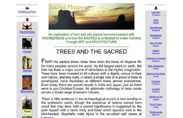 http://witcombe.sbc.edu/sacredplaces/trees.html