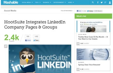 http://mashable.com/2011/10/06/hootsuite-linkedin-company-pages-groups/