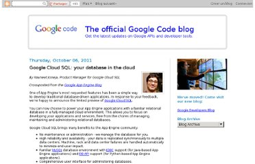 http://googlecode.blogspot.com/2011/10/google-cloud-sql-your-database-in-cloud.html