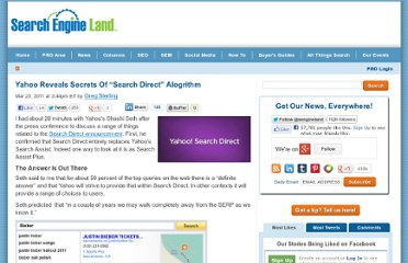http://searchengineland.com/yahoo-reveals-secrets-of-search-direct-alogrithm-69705