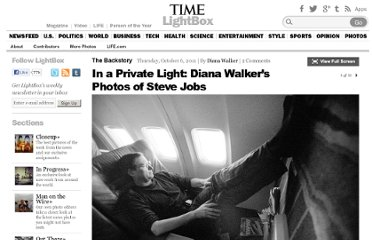 http://lightbox.time.com/2011/10/06/in-a-private-light-diana-walkers-photos-of-steve-jobs/#1