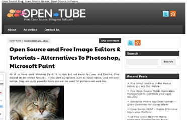 http://open-tube.com/open-source-and-free-image-editors-tutorials-alternatives-to-photoshop-microsoft-paint/