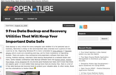 http://open-tube.com/5-free-data-backup-and-recovery-utilities-that-will-keep-your-important-data-safe/