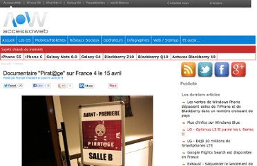http://www.accessoweb.com/Documentaire-Pirat-ge-sur-France-4-le-15-avril_a8776.html