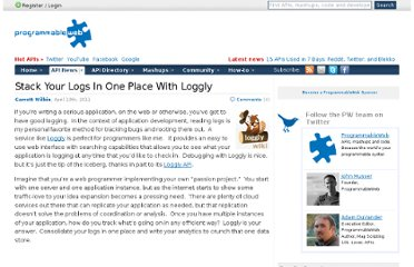 http://blog.programmableweb.com/2011/04/13/stack-your-logs-in-one-place-with-loggly/