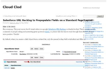 http://raydehler.com/cloud/clod/salesforce-url-hacking-to-prepopulate-fields-on-a-standard-page-layout.html