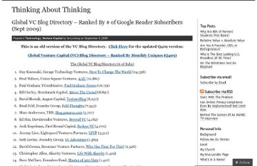 http://larrycheng.com/2009/09/08/global-vc-blog-directory-ranked-by-of-google-reader-subscribers-sept-2009/