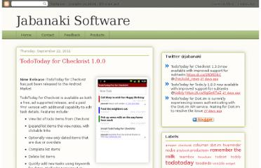 http://jabanaki.blogspot.com/2011/09/todotoday-for-checkvist.html