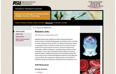 http://transhumanism.asu.edu/related_links.php