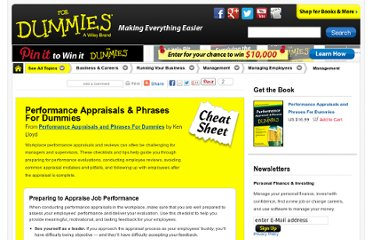 writing performance reviews for dummies Job performance review summary to be used when doing someone's review  why performance reviews fail employee performance appraisal form buying systems.