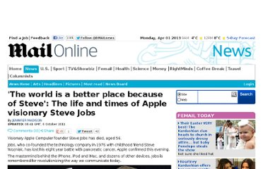 http://www.dailymail.co.uk/news/article-2045852/Steve-Jobs-dead-Biography-Apple-visionary.html