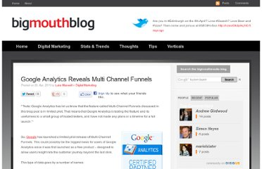 http://blog.bigmouthmedia.com/2011/04/20/google-analytics-reveals-multi-channel-funnels/