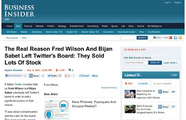http://www.businessinsider.com/why-fred-wilson-and-bijan-sabet-left-twitters-board-2011-10