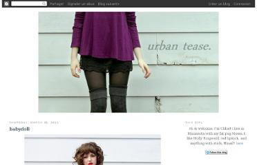 http://urban-tease.blogspot.com/search?updated-max=2011-04-06T14:02:00-07:00&max-results=3