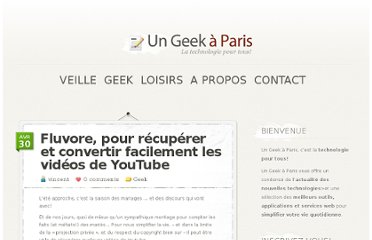 http://ungeekaparis.fr/2011/04/30/fluvore-pour-recuperer-et-convertir-facilement-les-videos-de-youtube/