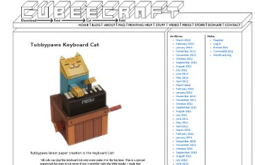 http://www.cubeecraft.com/blog/tubbypaws-keyboard-cat/