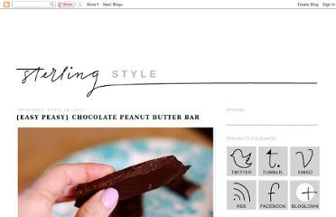 http://www.sterlingstyle.net/2011/04/easy-peasy-chocolate-peanut-butter-bar.html