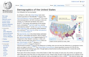 http://en.wikipedia.org/wiki/Demographics_of_the_United_States